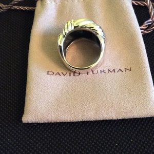David Yurman Jewelry - David Yurman Curb Chain Ring! Size 8!